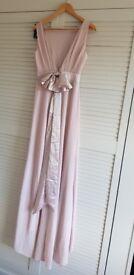 Asos bridesmaid dress size 8 mink