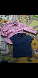 Boys tshirt and shirt 4-5