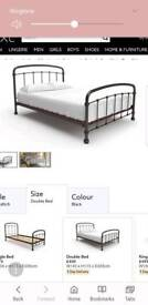 NEXT Shoreditch double bed frame