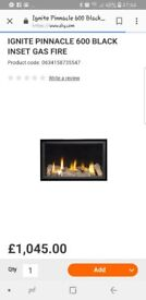 Brand new in packaging inset gas fire