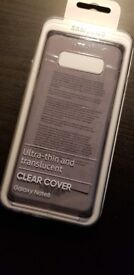 Samsung Galaxy Note8 Clear Cover EF-QN950CBEGWW Ultra-thin and translucent genuine Samsung product