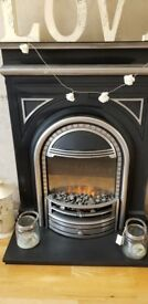 Gorgeous Edwardian Style Electric fire