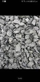 Cairngorm grey stones,chips, gravel