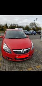 Red corsa