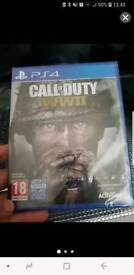 Sealed Call of Duty WW2 Ps4