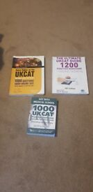 UKCAT medical/ dental practice question revision books