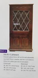 Oak Hi Fi unit by Olde Court Furniture