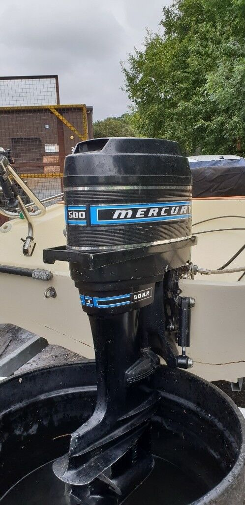 2 Mercury 500 Thunderbolt 50HP outboards | in Anstruther, Fife | Gumtree