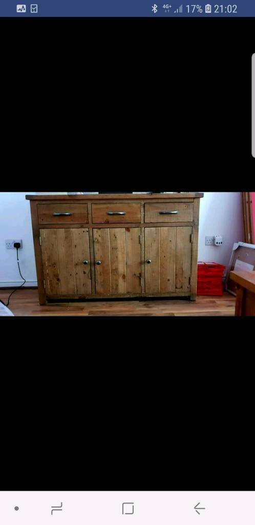 Scs Side Table Oak Cabinet In Thornliebank Glasgow Gumtree