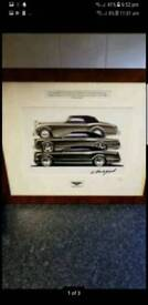 Bentley signed limited edition print