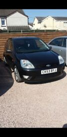 Ford fiesta black eddition 1.4
