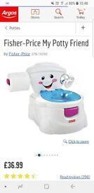 Fisher price my potty friend