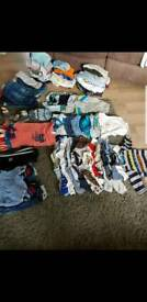 Massive bundle of baby boy clothes 25 or nearest offer