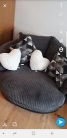 ashmore cuddle chair from harveys
