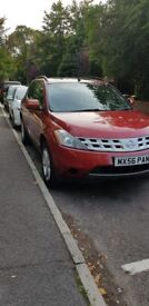 Nissan Murano for sale, 11months MOT