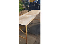 Free trestle table fully working