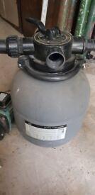 Swimming Pool Pump Mega 0.75HP and 15 Inch Sand Filter