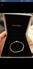 Pandora bracelet 17cm very small £25