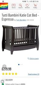 Cot bed - turns into single bed aswell