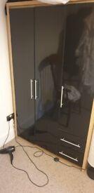 Wayfair Black 3 Door Wardrobe