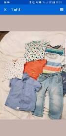 Baby boys clothes 12- 18 months bundle