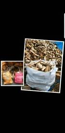🔥seasoned hardwood logs 🔥
