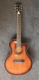 A P C EA150 electro acoustic folk guitar