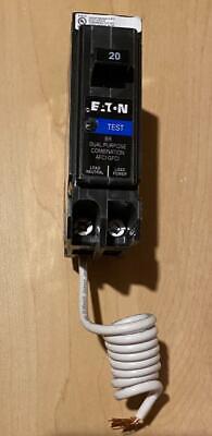Cutler Hammer Eaton Brn120df Brafgf120 20a Dual Function Afcigfci New