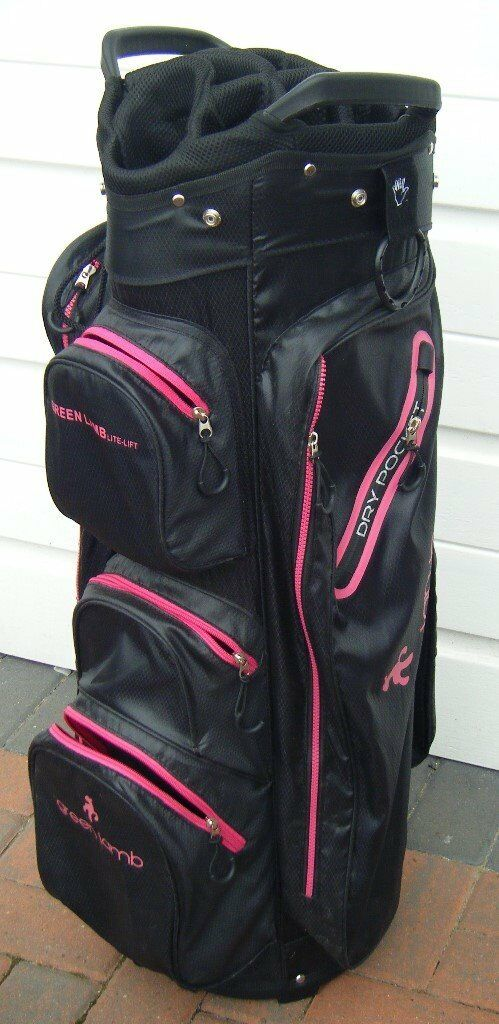 Golf Bag Green Lamb 14 Way Divider