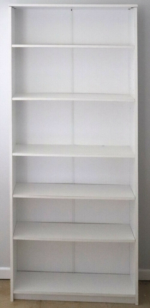 sports shoes 1197e 5426f Large White Bookcase Shelving Unit 180 x 70 x 19 cm (HxWxD) | in West End,  Hampshire | Gumtree