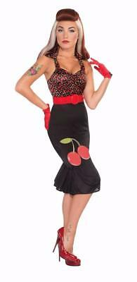 Forum Cherry Anne 40s 50s Womens Costume Adult S/XS 2/6 70650 FAST SHIP! - Cherry Halloween Costumes