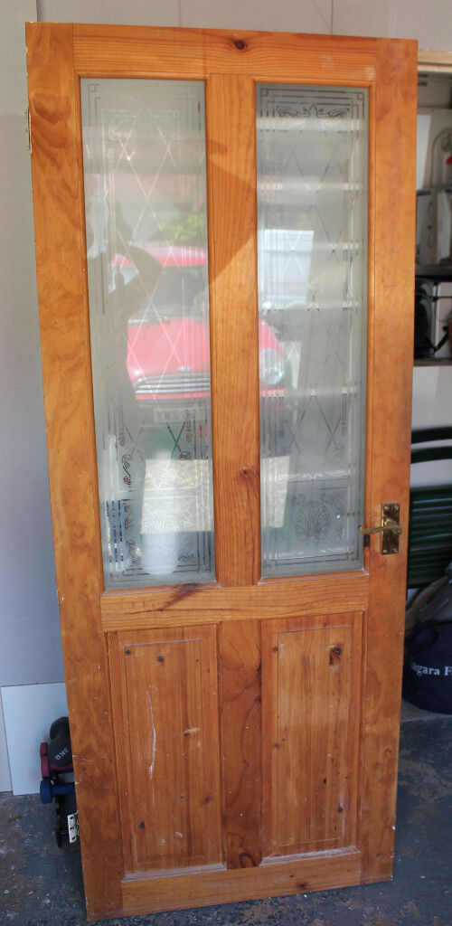 Solid Pine Internal Doors - 4 in total