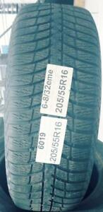 PNEUS HIVER USAGÉS / USED WINTER TIRES 205/55R16 20555R16 KUMHO I ZEN KW23