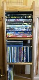 Pine cd dvd ps2 ps3 ps4 xbox games rack