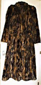 Ladies Fur Coat size 12