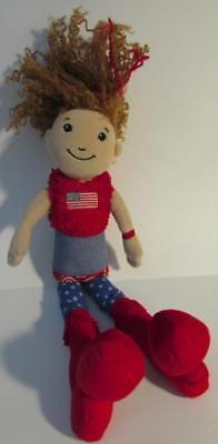 Groovy Girls Doll Vanessa Patriotic Red White Blue US Flag Theme Plush - Groovy Theme
