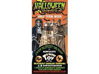 Half Term Halloween Spooktacular!