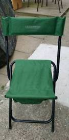 Ameristep folding high back chair with storage underneath
