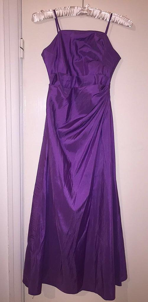 Purple Bridesmaid Dress / Prom dress and accessories | in Swansea ...