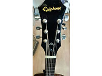 Epiphone Limited AJ-100 (Vintage Sunburst) Acoustic Guitar Excellent Condition ,Warranty