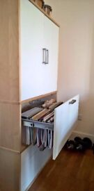 IKEA storage cabinets x2 / one incl. hanging files+stationary drawer