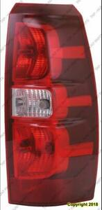 Tail Light Passenger Side High Quality Chevrolet Avalanche 2007-2013