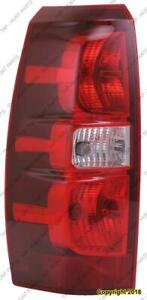Tail Light Driver Side High Quality Chevrolet Avalanche 2007-2013