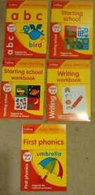 5 starting school books ages 3 to 5 (school preparation)