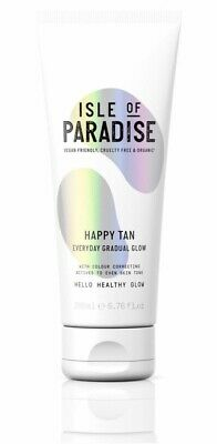 Isle Of Paradise Happy Tan Everyday Gradual Glow 200ml New Unused Uk Fake Tan
