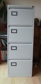 NOW REDUCED! As new 4 Drawer FOOLSCALP FILING CABINET ONLY £85!!!!