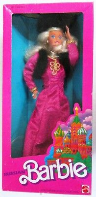 Russian Barbie Doll (Dolls of the World Collection) (NEW)