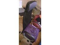 high back office chair, Ikea Markus, Manchester m144hl