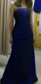 Stunning Navy Prom Dress