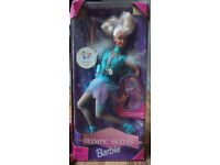 1997 Olympic Skater Barbie Collector Doll, new in box.